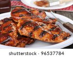 Barbecue Grilled Chicken...