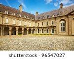 Stock photo interior courtyard at the irish museum of modern art imma in dublin ireland 96547027