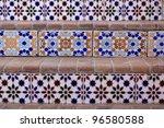 Ceramic stair tiles