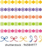 japanese style material of the...   Shutterstock .eps vector #96584977