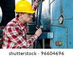young engineer | Shutterstock . vector #96604696
