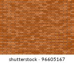 Illustration Of A Red Brick...
