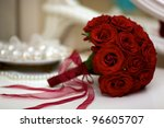Wedding Bouquet With Pearls An...