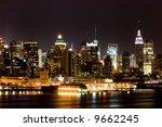 View Of Manhattan West Side...