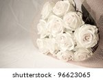 Black And White Bouquet Of...