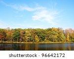 Autumn In Lake