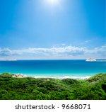 Gorgeous beach on Wilsons Prom - stock photo