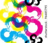 cmyk seamless pattern | Shutterstock .eps vector #96685795