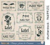 Vintage Style Labels On...