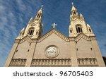 saints peter and paul church... | Shutterstock . vector #96705403