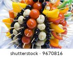 catering buffet style for... | Shutterstock . vector #9670816