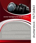 vector red background with...   Shutterstock .eps vector #96716863