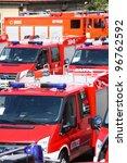 gostyn   april 18  fire... | Shutterstock . vector #96762592