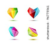 business design geometric shine ... | Shutterstock .eps vector #96775561