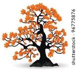 Eps 10 Vector   Maple In Autumn