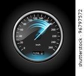 speedometer | Shutterstock .eps vector #96797572