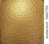 fine crinkled gold aluminium... | Shutterstock . vector #96827701