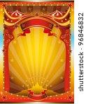 multicolor circus poster. a...   Shutterstock .eps vector #96846832