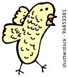 cartoon doodle bird | Shutterstock . vector #96853381