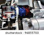 kuala lumpur   feb 26  engine... | Shutterstock . vector #96855703