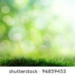 the beautiful backdrop of grass ... | Shutterstock . vector #96859453