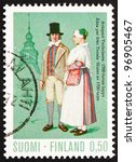 finland   circa 1972  a stamp... | Shutterstock . vector #96905467