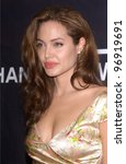 Постер, плакат: Actress ANGELINA JOLIE at