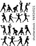 Baseball Or Softball Players...