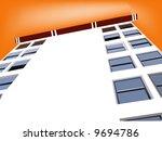 Tall Skyscraper illustration - stock photo