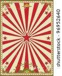 Circus Vintage. A Retro Circus...