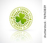 vector saint patrick's day... | Shutterstock .eps vector #96963839