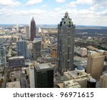 Aerial View Of Cityscape Of...