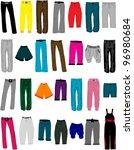women clothes | Shutterstock .eps vector #96980684