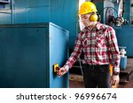 engineer at work | Shutterstock . vector #96996674