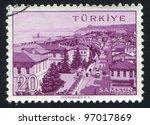 turkey   circa 1959  stamp... | Shutterstock . vector #97017869
