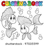 Coloring Book Two Cute...