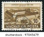 hungury   circa 1938  stamp... | Shutterstock . vector #97045679