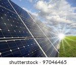 power plant using renewable... | Shutterstock . vector #97046465