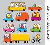 traffic   Shutterstock . vector #97062845