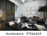 modern office | Shutterstock . vector #97066265
