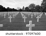 American Cemetery In Normandy ...