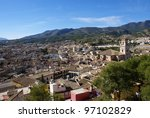 view of caravaca de la cruz... | Shutterstock . vector #97102829
