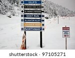Slope Trail Signs For...