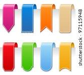 ribbons  vector eps10... | Shutterstock .eps vector #97115948
