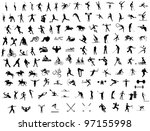 sport icons collection. icons... | Shutterstock . vector #97155998