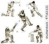 Hand Drawn Series   Cricket  ...