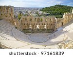 The Odeon Of Herodes Atticus O...