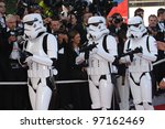 Постер, плакат: Star Wars stormtroopers at