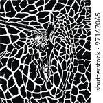 illustration pattern background ... | Shutterstock .eps vector #97167065