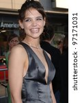 Постер, плакат: Actress KATIE HOLMES at